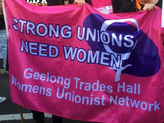 Union women demand an end to misogyny