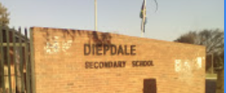 Sign to demand healthy food for Diepdale Secondary learners