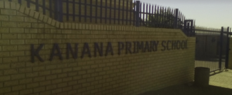Sign to demand healthy food for Kanana Primary learners