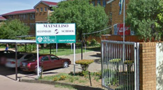 Sign to demand healthy food for Matseliso Secondary School