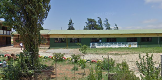 Sign to demand healthy food for Mzamo Primary School