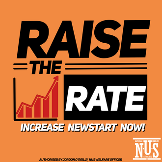 #RAISETHERATE of New Start