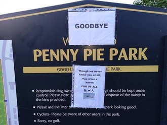Save Penny Pie Park
