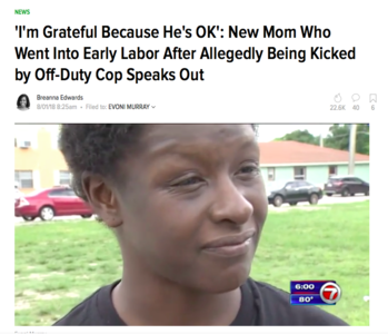 MIAMI We Demand Community Healing for Pregnant Black Mother Attacked by Cop.