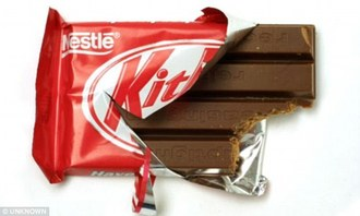 KitKat change back to foil and paper wrapping.
