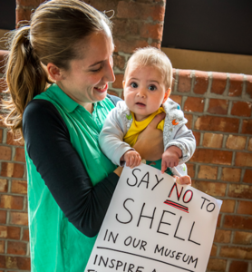 Shell Out! No place for big oil in public science