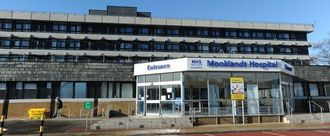 Keep University Hospital Monklands in Central Monklands