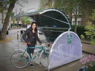Cyclehoop Bikehangars for Kensal Rise