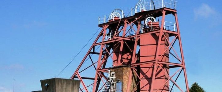 Introduce a mining exhibition at Snibston Colliery