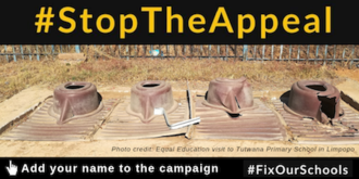 Tell government to #StopTheAppeal and #FixOurSchools