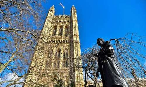 Stop Suffragette statue being removed from Parliament