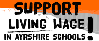Support a Living Wage for Ayrshire School Cleaners!
