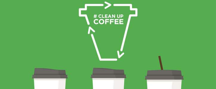 Make coffee cups recyclable!