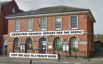SAVE CREDITON COUNCIL OFFICES FOR THE COMMUNITY