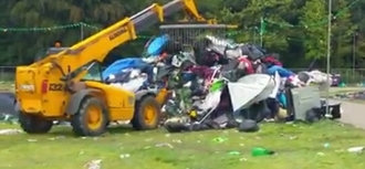 Extreme music festival waste must be stopped