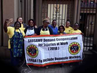 Minister of Labour wants to change the law so domestic workers can get compensation - support this