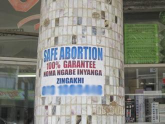 Tell the government to provide adequate information on free safe, legal abortion.