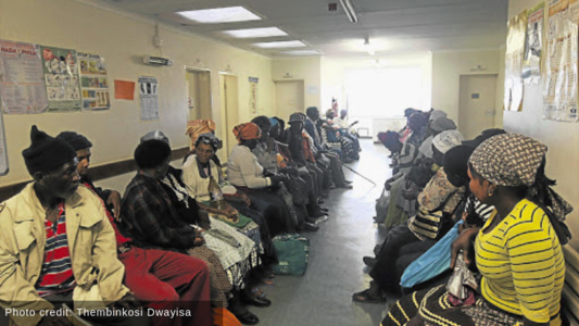 Qunu hospital (Thembinkosi Dwayisa, Sunday Times)