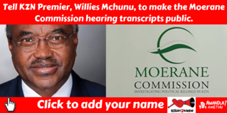 Publish the Moerane Commission hearing transcripts