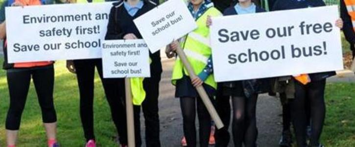 Return Funding For High School Transport by Catchment Area