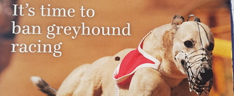 Ban greyhound racing