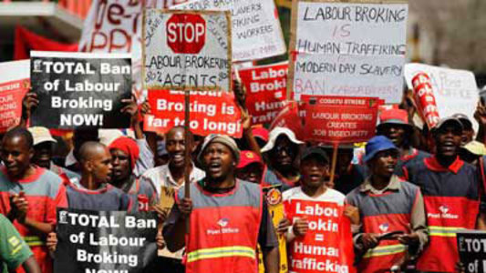 Stop Heineken and others using labour brokers to bypass labour laws