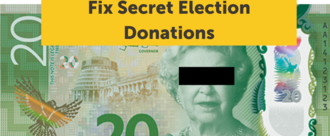 Fix election donations