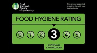 Online takeaways to ban under 3 hygiene ratings
