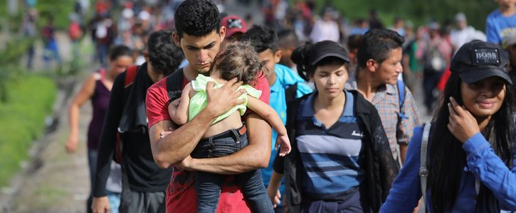 Canada Support to Honduras Immigrants Caravan & Opposes Trump Anti-Immigrant Policy