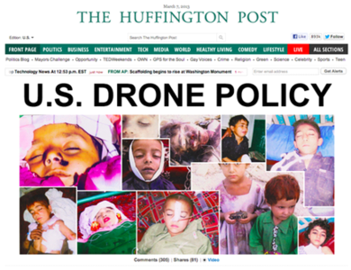 Action Against Drones: IF NOT YOU, THEN WHO?