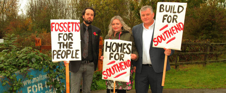 Fossetts For The People - Build Homes For Southend.