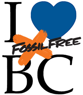 I ♥ BC Fossil Free
