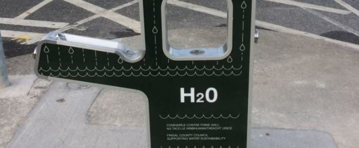 Provide public water filling stations & water fountains in Galway