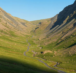 No zip wire at Honister Slate Mine, Lake District