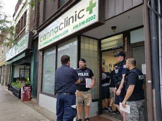 Ontario's Police Raids, Illicit Dispensaries, and Precarious Labour.