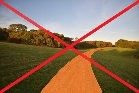 Re-think the Stoke Park path