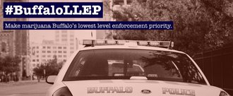 De-prioritize low-level marijuana arrests in Buffalo #BuffaloLLEP