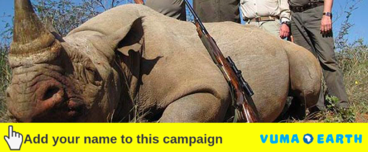 TELL TANZANIA TO RE-BAN TROPHY HUNTING