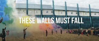 'These Walls Must Fall' Motion Bristol