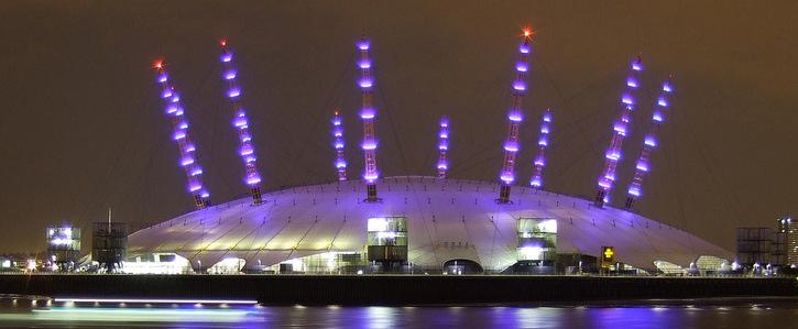 O2 Arena: ditch single-use plastic cups