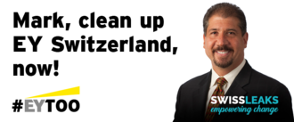 #EYtoo: Time to clean up at EY Switzerland