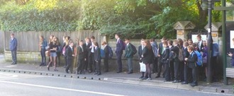 Secondary school transport in Bath & North East Somerset