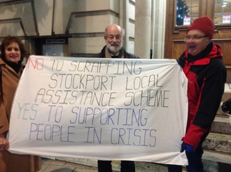 Stockport Council - Withdraw plan to scrap the emergency Local Assistance Scheme