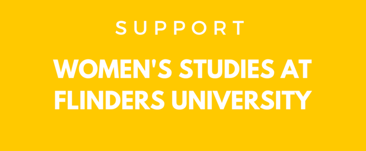Support Women's Studies at Flinders University