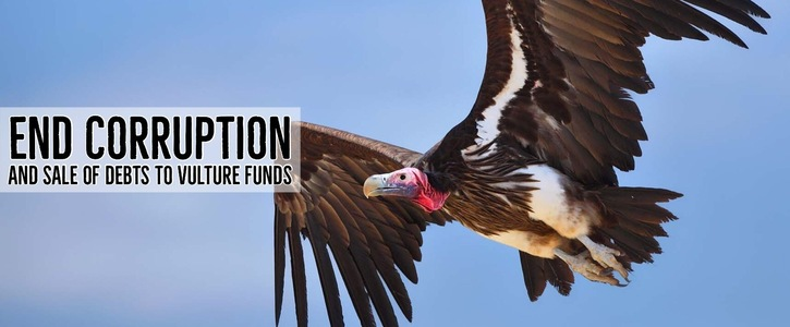 End Vulture Fund Evictions