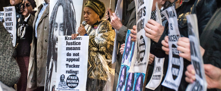 Don't Stand in the Way of Justice for Mumia Abu-Jamal! Don't Appeal Judge Tucker's Decision!
