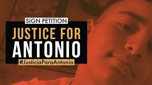 Sign Now: End Police Brutality, Fire Killers of Teen Antonio Arce!