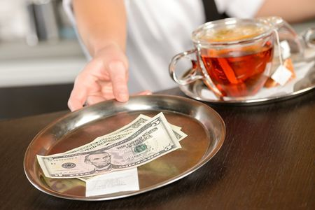 Protect restaurant workers from tip theft.