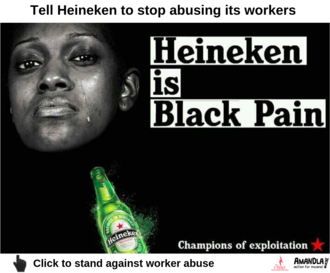 Heineken 50 workers dismissed