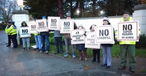 Kildare County Council must act to shut down unauthorised quarry at Ballysax